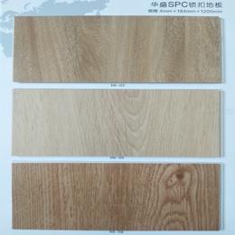 河北沧州市全新料SPC石塑复合锁扣强化地板