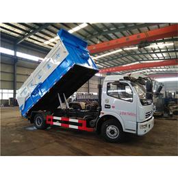 运输污水厂污泥淤泥车+8吨污泥运输车