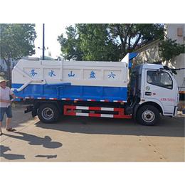 新款东风8吨污泥运输车-收集污泥转运车