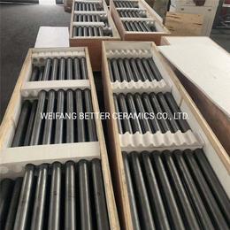 百德厂家直供碳化硅陶瓷管 套管辊棒 传动棒
