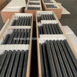 百德厂家直供碳化硅陶瓷管辊棒传动棒碳化硅杆传动杆