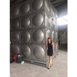 保山不锈钢水箱厂家 焊接消防水箱304价格 方形双层保温水箱缩略图