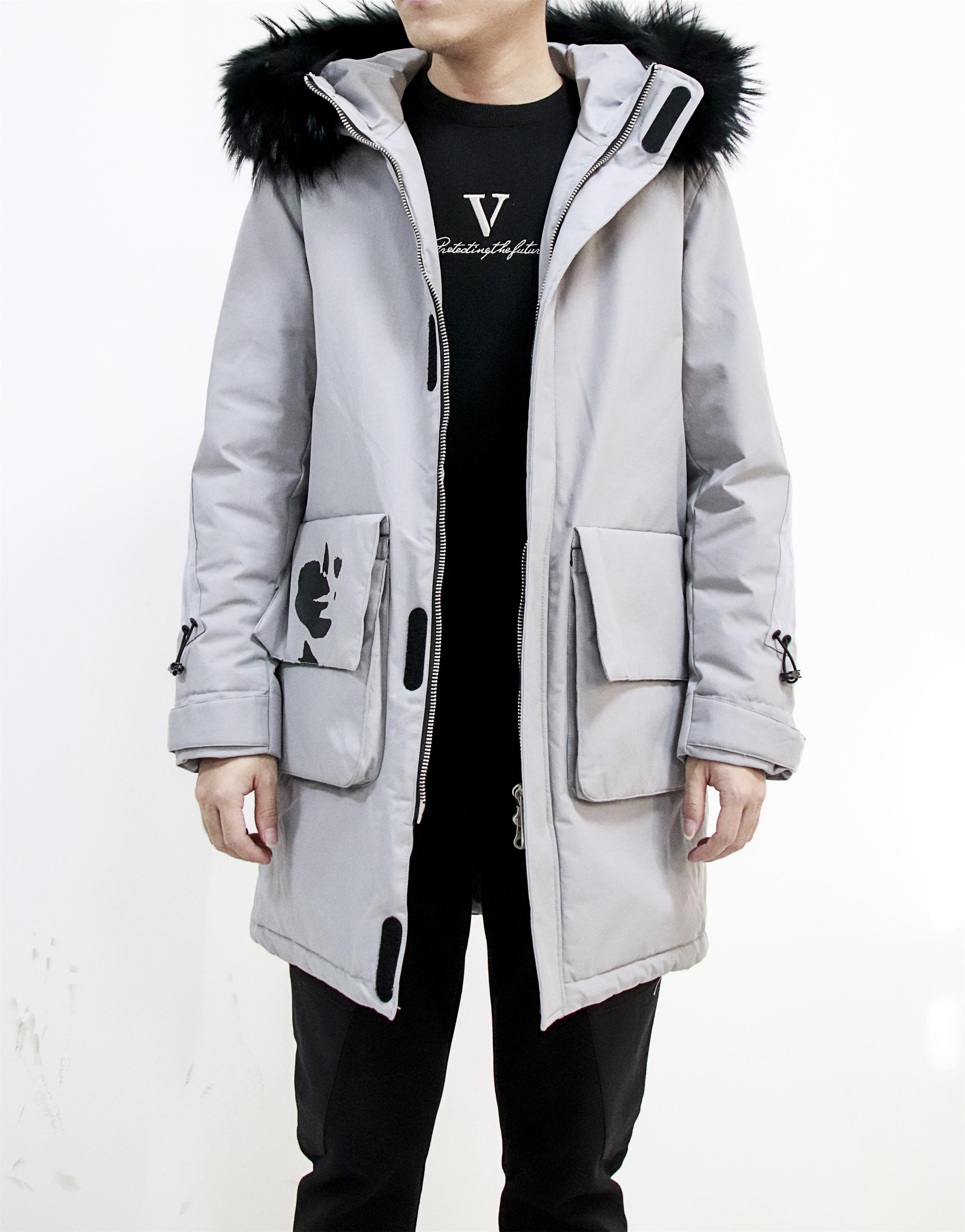 新款棉袄冬季修身中长款