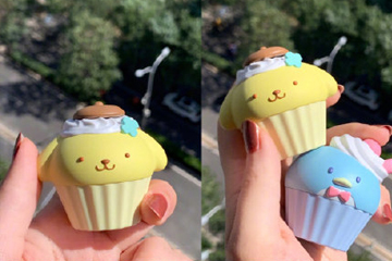 杯子蛋糕唇膏,