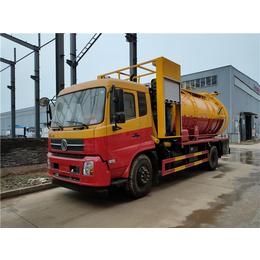运输18吨20吨污泥车+后八轮污泥运输车18方