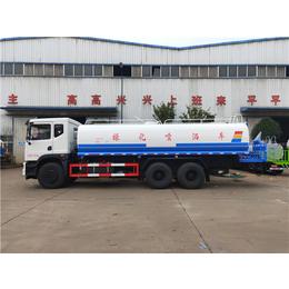 双层罐体保温20方热水运输车