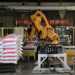 粮食码垛机器人设备 全自动高台码垛机
