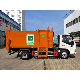 新款国六6方压缩垃圾车 垃圾分类清运车介绍