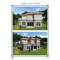 江西南昌轻钢别墅,给全村人的建筑历史带来变革