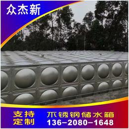 咸宁不锈钢水箱厂家 焊接消防水箱304组合式方形保温水箱价格缩略图