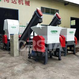 塑机厂供破碎清洗线破碎机塑料片材粉碎qy8千亿国际CRSTA柯达机械