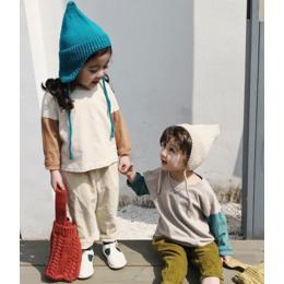 供应亚博平台网站多啦啦网红品牌童装日韩春季折扣货源直播批发