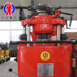可以移动的钻机移机款百米水井钻机130米液压岩心钻机带轮