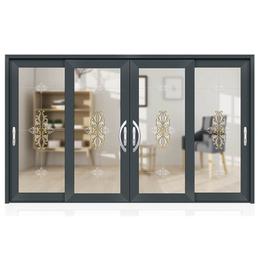 室内落地隔音隔热两轨推拉玻璃