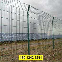光伏电站围栏现货 东莞电厂护栏 浸塑铁围网