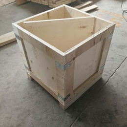 木质包装箱厂定做胶合板箱 出口免熏蒸 青岛黄岛厂家外形美观