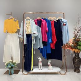 摩安珂2020夏款设计师源创女装 原单尾货 品牌女装走份