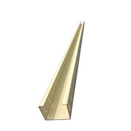 线缆照明用铝合金线槽户外喷塑铝制电线槽厂家定制2米长