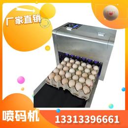 2020整盘鸡蛋喷码机科力普6喷头整盘鸡蛋喷码机