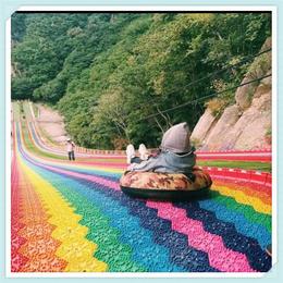 彩虹滑道生产厂家 彩虹滑道多少钱一平 七彩滑道项目缩略图