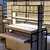 新款木纹眼镜柜旗舰店眼镜柜立式玻璃陈列柜 靠墙柜缩略图3