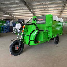 新款电动三轮自卸式垃圾车  电泳烤漆物业三轮装桶运输车